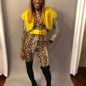 🔥 leopard & Cheetah  Jumpsuit